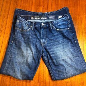 Old Navy premium denim bootcut jeans